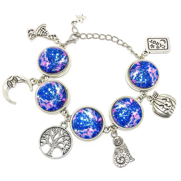 Jewellery Deep Purple & Blue Witchy Vibes Bracelet