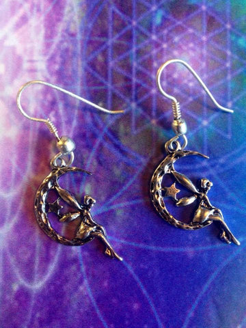 Jewellery Fairy Moon Earrings