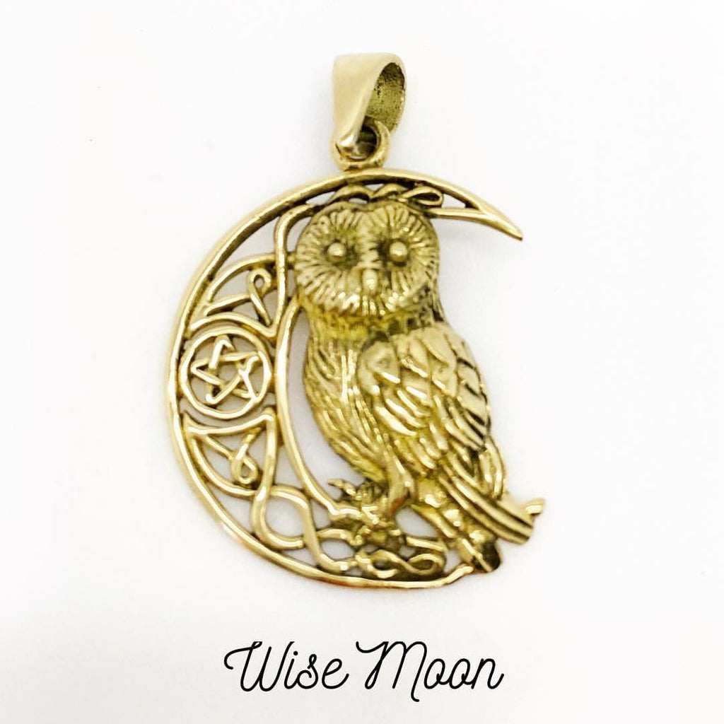 Jewellery,Home & Outdoor Decoration Wise Moon Necklace
