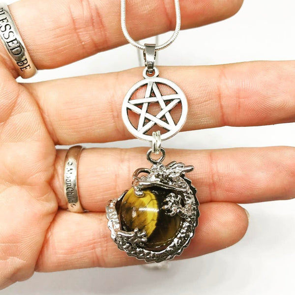 Jewellery,Home & Outdoor Decoration,Witch & Spell Craft Ancients of Protection Necklace