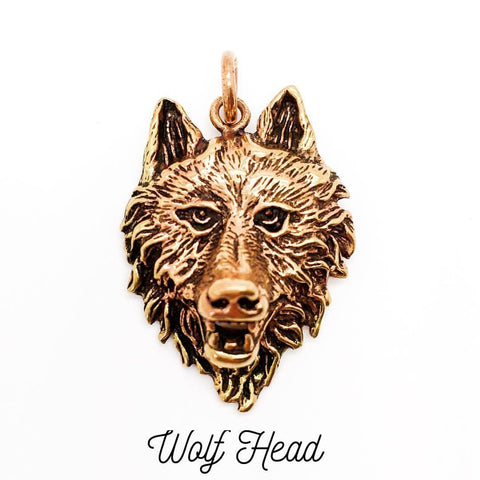Jewellery,Home & Outdoor Decoration Wolf Head Necklace