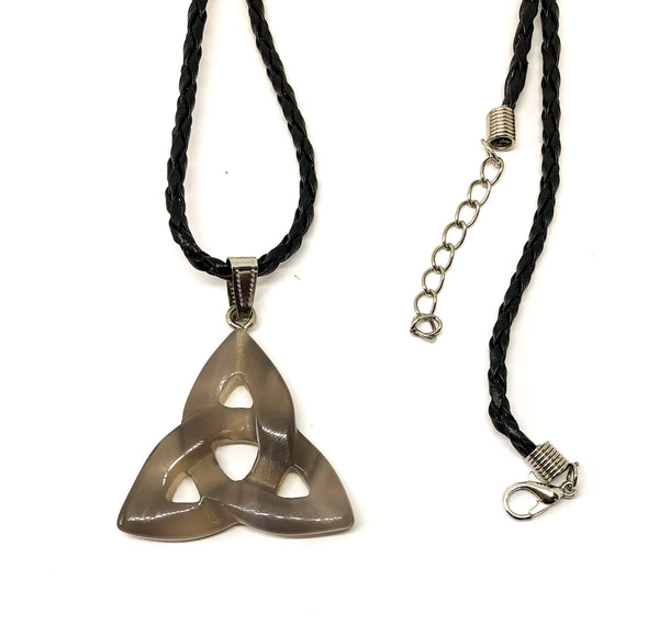 Jewellery Moonstone Triquetra Necklace