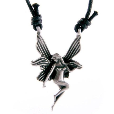Jewellery Nymph Fairy Pendant - Pewter
