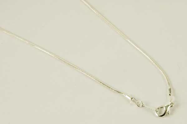 Jewellery Silver Plated Snake Chain ~ 20 Inch