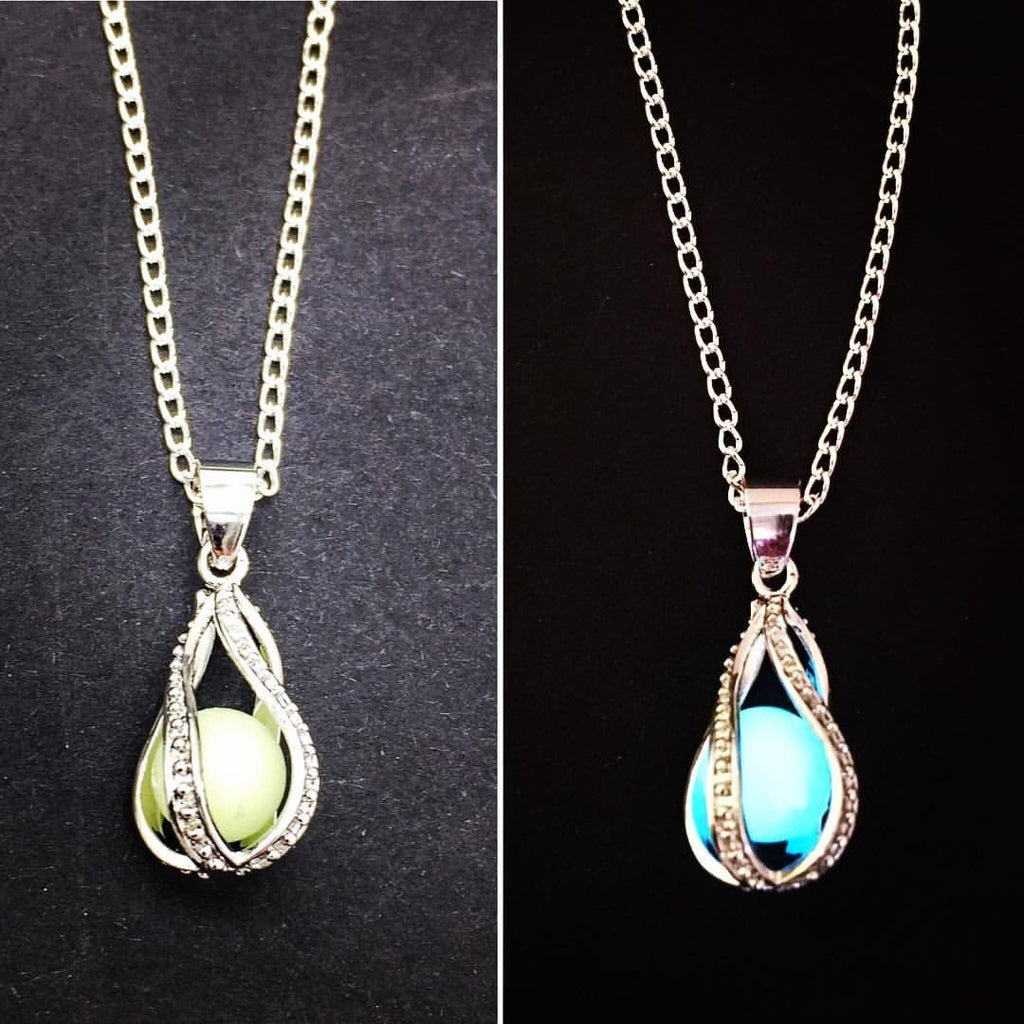 Jewellery Silver Plated Snake Chain Moonlit Rain Necklace