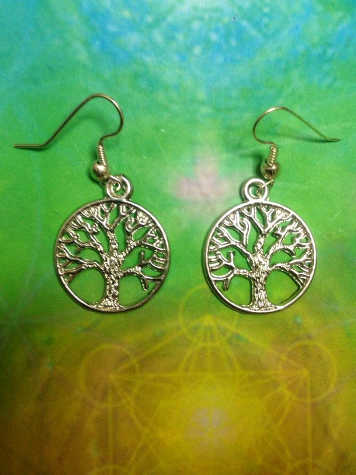 Jewellery Tree Of Life Earrings