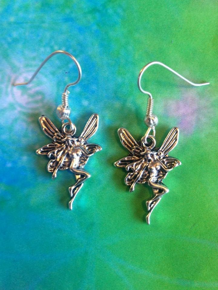 Jewellery,Witch & Spell Craft Fairy Flight Earrings