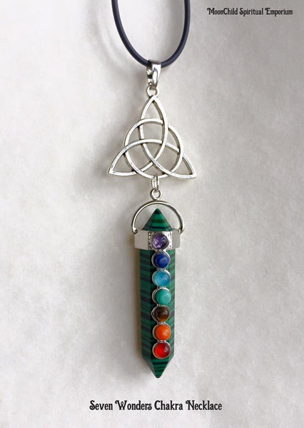Jewellery,Witch & Spell Craft Seven Wonders Necklace