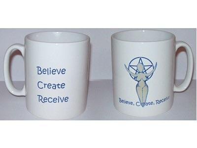 mugs Believe, Create, Receive Mug