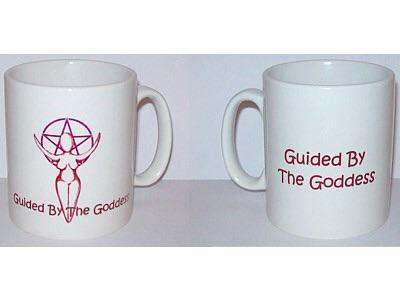 mugs Guided By The Goddess Mug