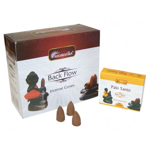 Backflow Incense Cones ~ Palo Santo