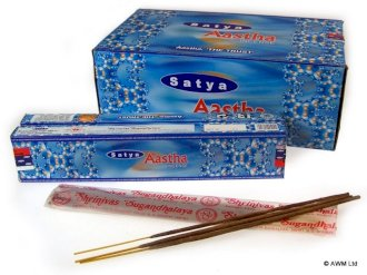 Aastha Incense Sticks ~ Satya