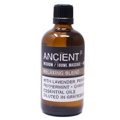 Ancient Wisdom Massage Oil - Relaxing