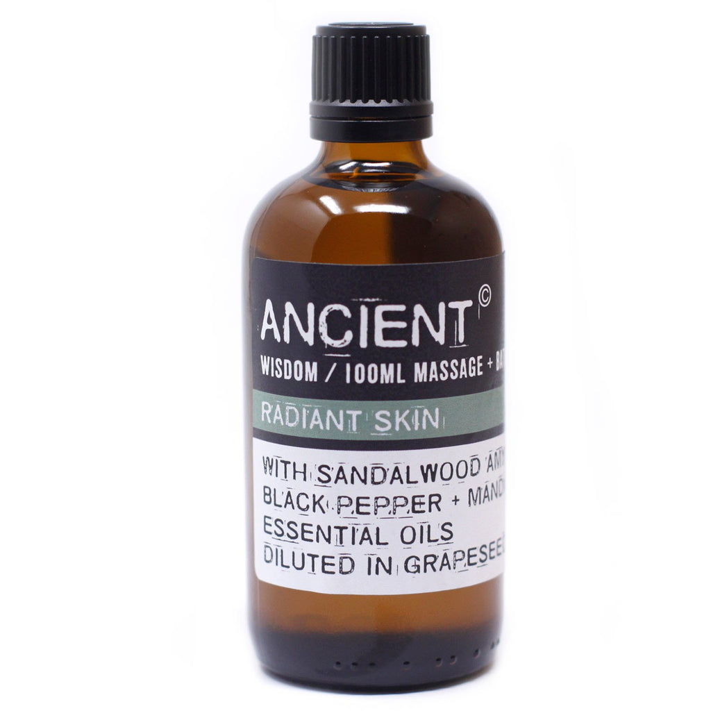 Ancient Wisdom Massage Oil - Radiant Skin