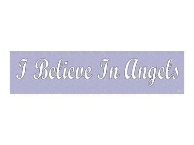 Witch & Spell Craft,Angels, Gods & Goddess I Believe In  Angels Bumper Sticker