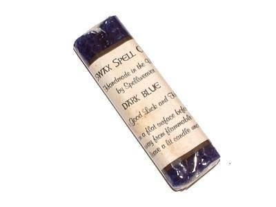 Witch & Spell Craft Beeswax Spell Candles - Dark Blue
