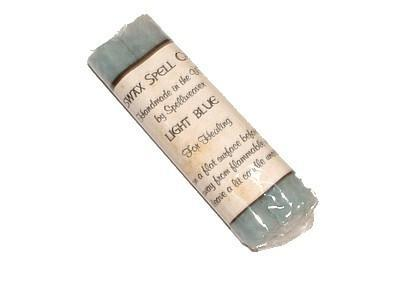 Witch & Spell Craft Beeswax Spell Candles - Light Blue