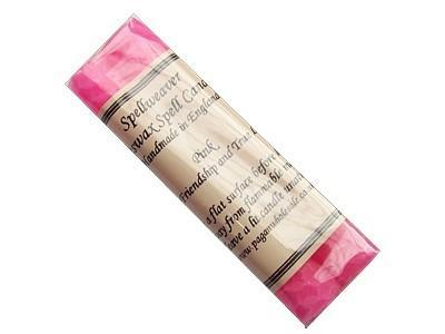 Witch & Spell Craft Beeswax Spell Candles - Pink