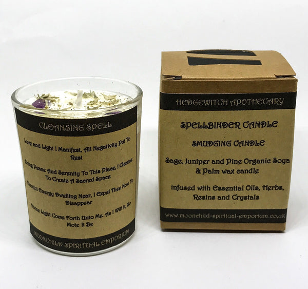 Witch & Spell Craft,Candles, Holders & Lanterns Spellbinder Smudging Candle