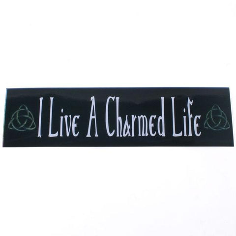 Witch & Spell Craft Charmed Life Bumper Sticker