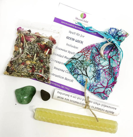 Witch & Spell Craft Moon Magick Spell Kit - Good Luck