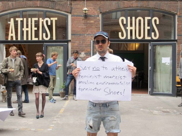 Our new ATHEIST Shoes Menagerie / Workshop / Drop-in-centre is open!