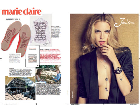 Atheist Shoes featured in Marie Claire.