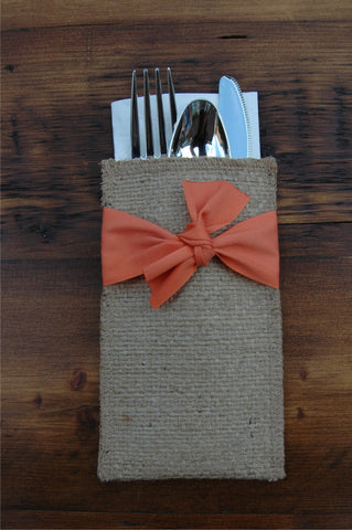 Rustic Orange - Package of Eight