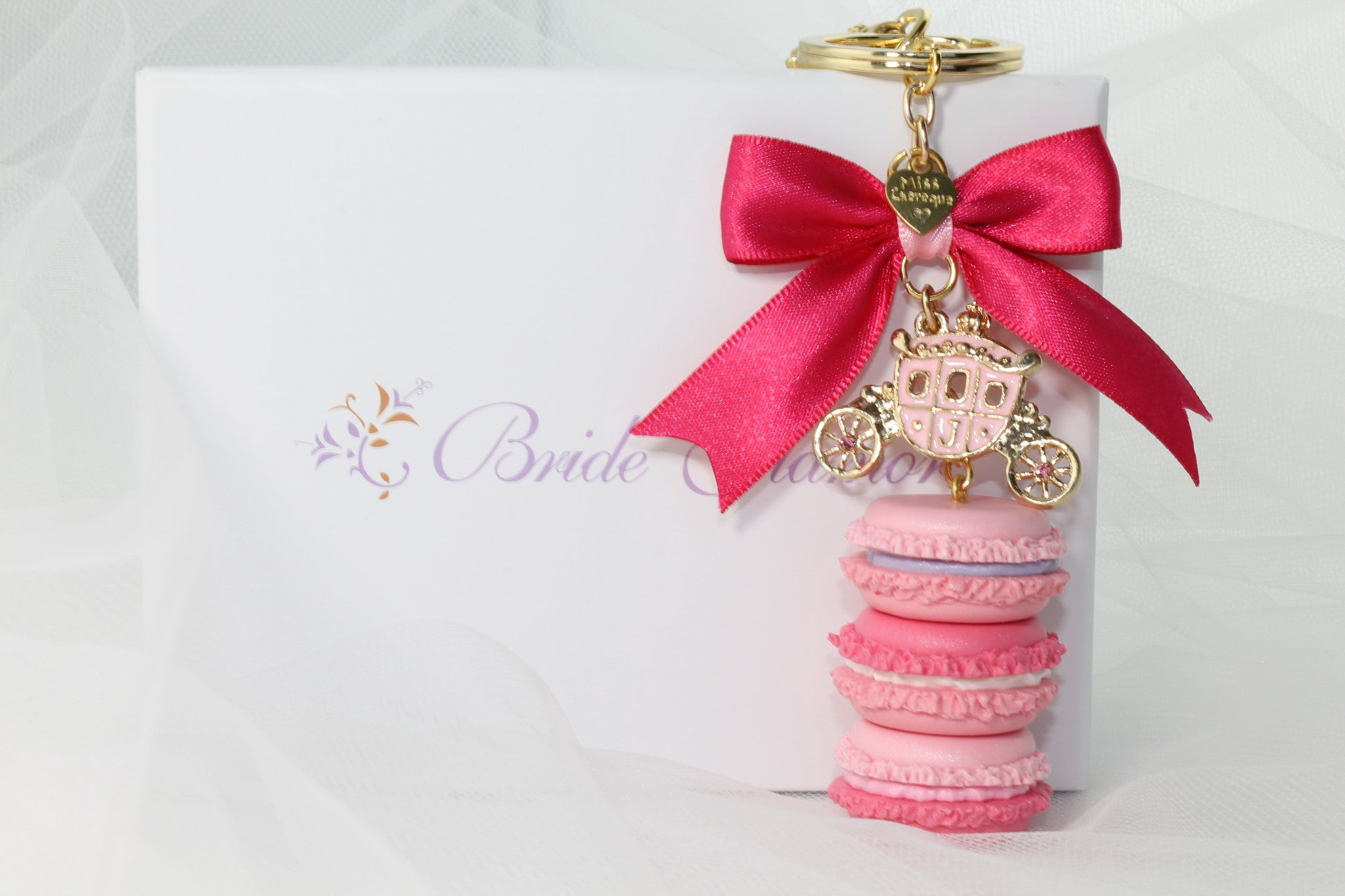 Wedding Party Gift / Favor French Macaroon Handmade - Bride Glamor