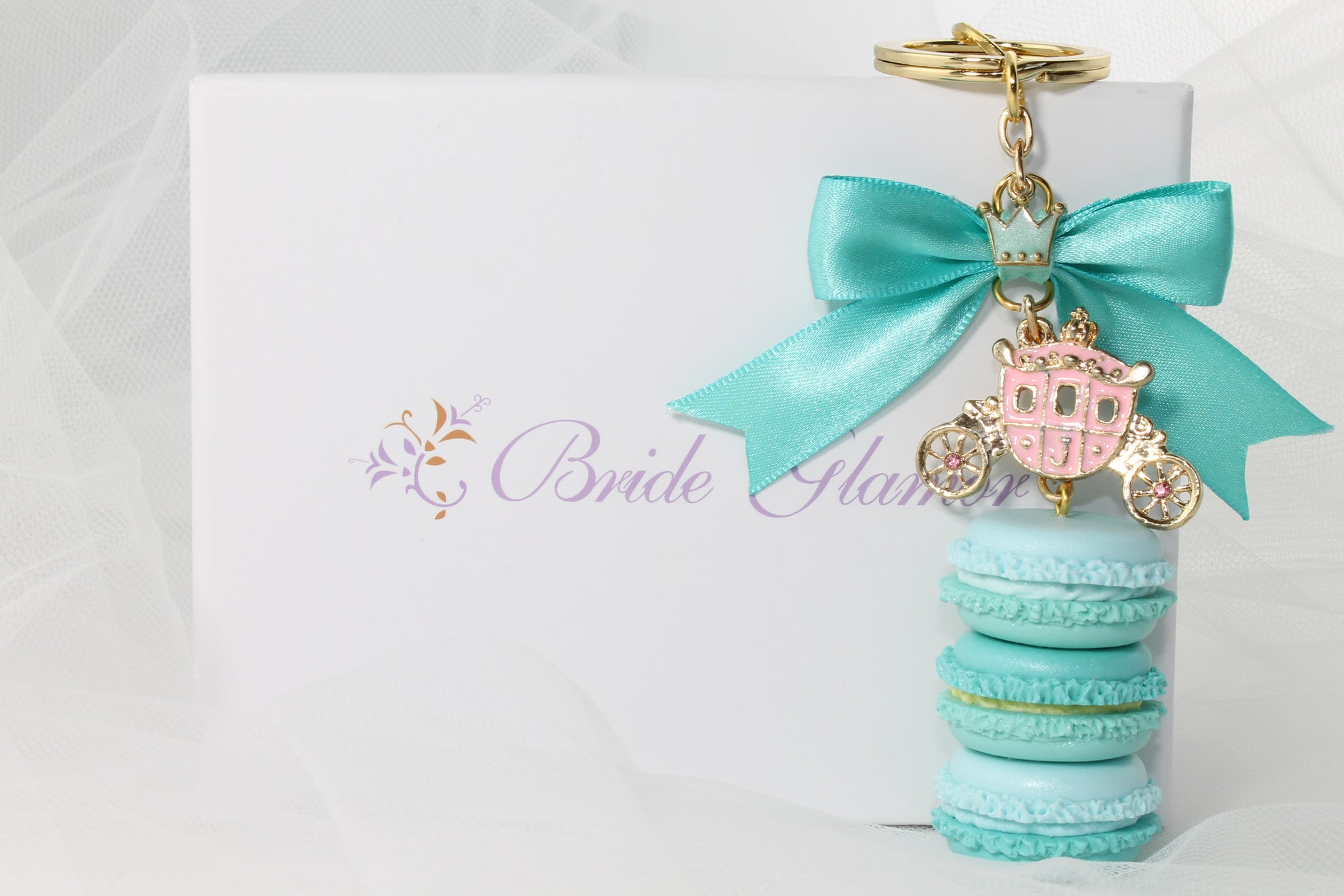 Wedding Party Gift/Favor French Macaroon Handmade - Bride Glamor