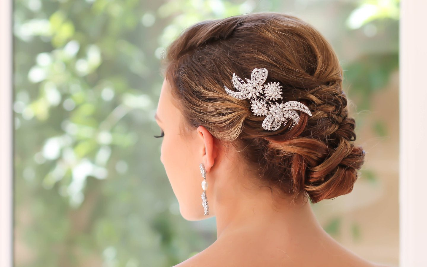 Bridal headpiece - Bride Glamor