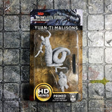 Yuan-ti Malisons Unpainted Wizkids HD Mini