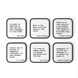 Coasters Quotes Sets of 6