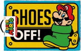SUPER MARIO SHOES OFF DOORMAT