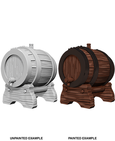 Keg Barrels Unpainted Wizkids HD Mini