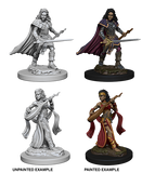 Human Female Bard Wizkids HD Mini