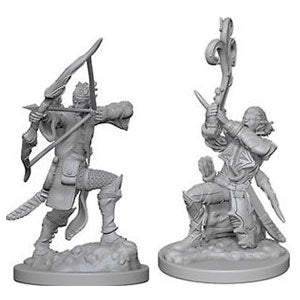 HD Mini Elf Bard Unpainted