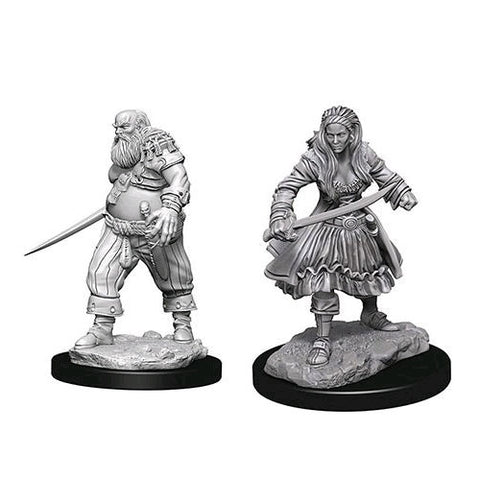 Pirates Unpainted Wizkids HD Mini