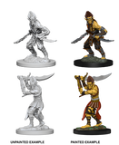 Githyanki Unpainted Wizkids HD Mini
