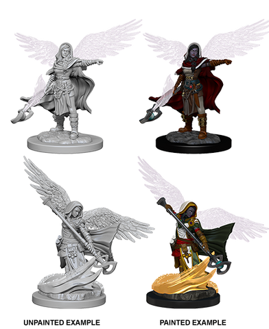 Aasimar Female Wizard Wizkids HD Mini