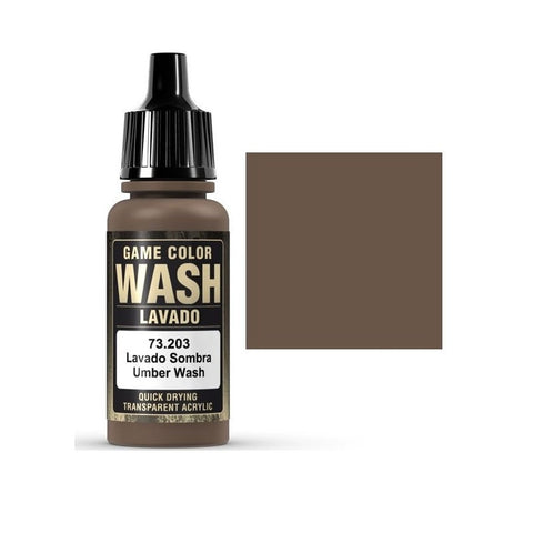 73203 Umber Wash Vallejo Game Color