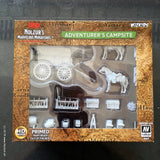 Adventurers Campsite Unpainted Wizkids HD Mini