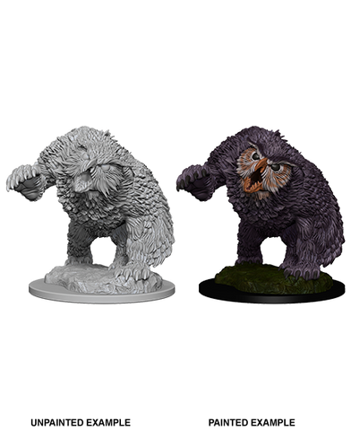 Owlbear Unpainted Wizkids HD Mini