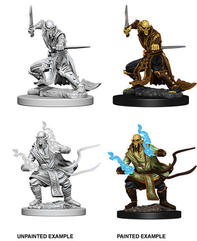 Githzerai Unpainted Wizkids HD Mini