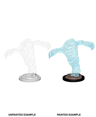 Medium Water Elemental 2 pcs. Unpainted Wizkids HD Mini