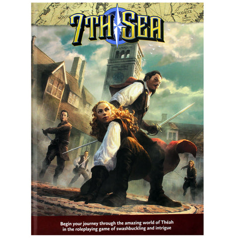 7th Sea Core Rulebook (Second Edition)