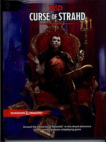 Dungeons & Dragons 5th Edition RPG : Curse of Strahd