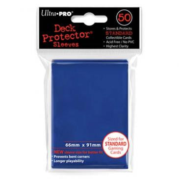 Ultra Pro Blue Standard Deck Protector Sleeves 50 pcs