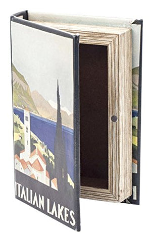 Italian Lakes Small Book Box