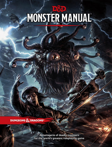 Dungeons and Dragons 5th Edition RPG: Monster Manual